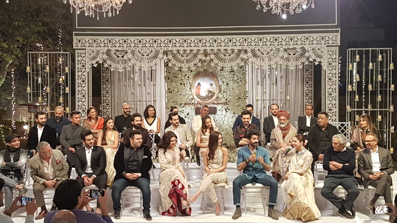 Parey Hut Love Shoot Wraps Up Glamorously Amidst Stars
